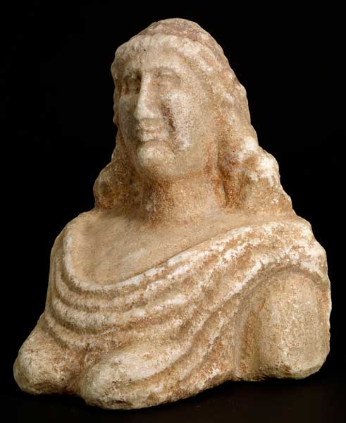 Roman Marble Bust of a Matron