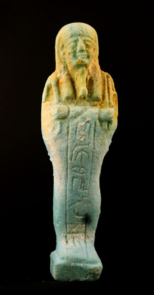 26th Dynasty Faience Ushabti