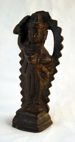 Indian Bronze Statue of a Standing Deity