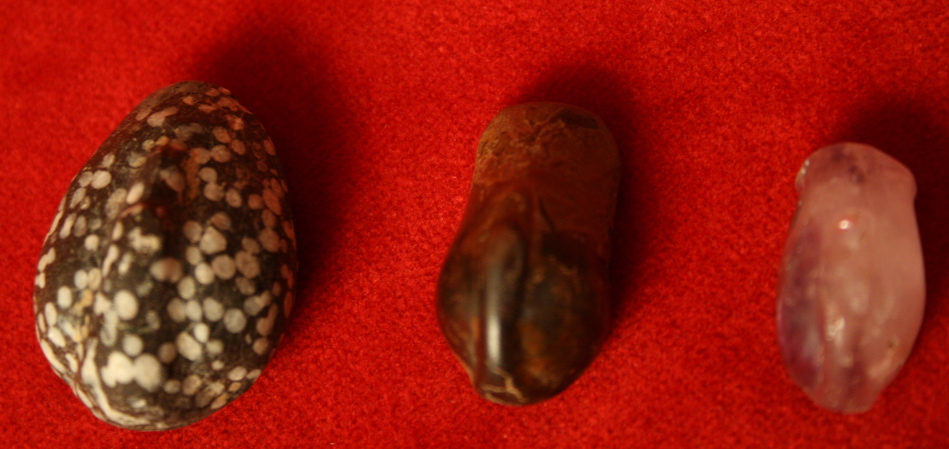 Set of Three Babylonian Stone Duck Weights