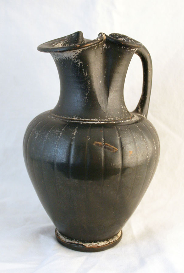 Classical Period Black Glazed Oinochoe