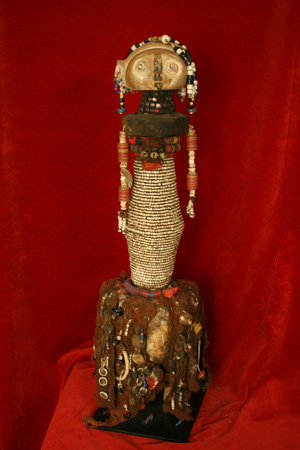 Bagara or Ondurman Beaded Doll
