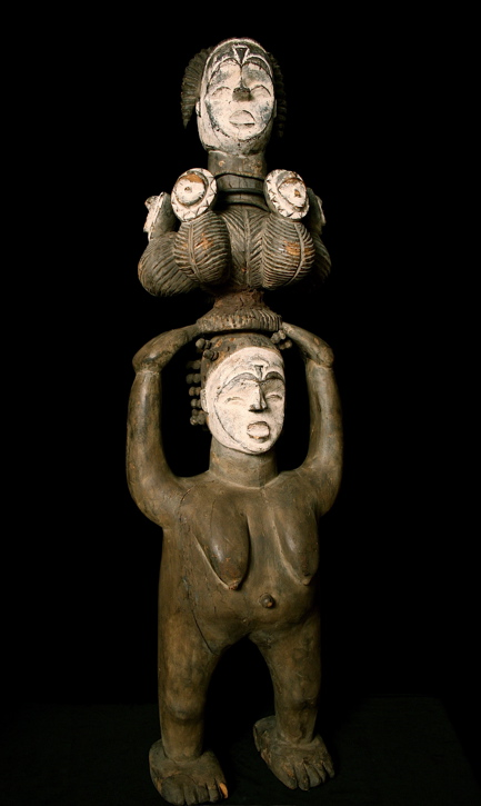 Idoma Wooden Figure