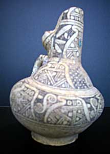 Mavera al-Nahr or Khurasan Slip-Painted Ewer with Turquoise-Glazed Highlights