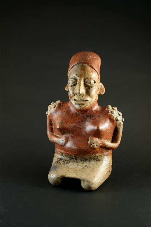 Ameca-Ezatlán Style Jalisco Kneeling Female Figure