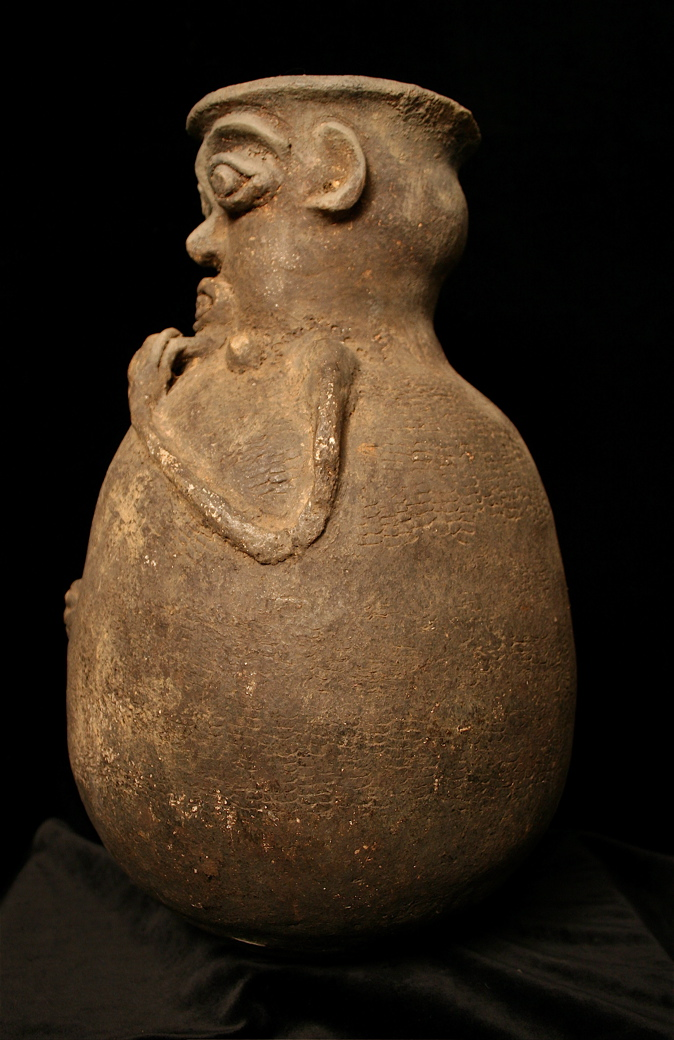 Ewe or Fon Anthropomorphic Jar