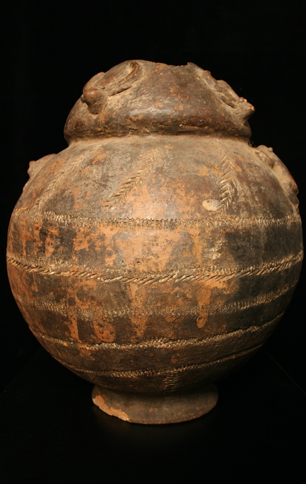 Burkina Faso Terracotta Storage Jar