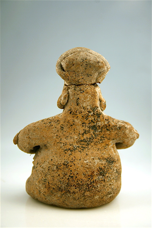 Colima Seated Figure