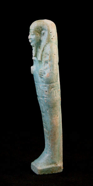 Faience Ushabti of the 26th Dynasty