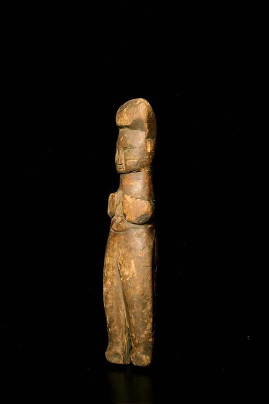 Standing Female Figure, Possibly Tanzanian