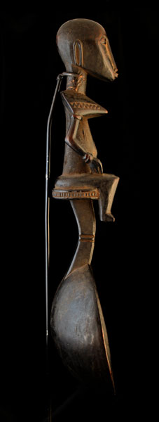 Senufo Wooden Ceremonial Spoon