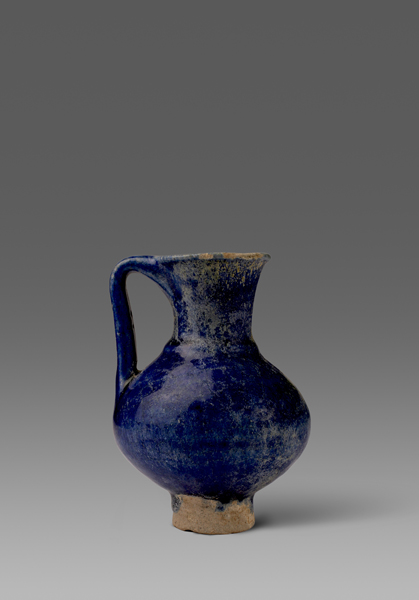 Cobalt-Blue Glazed Jug