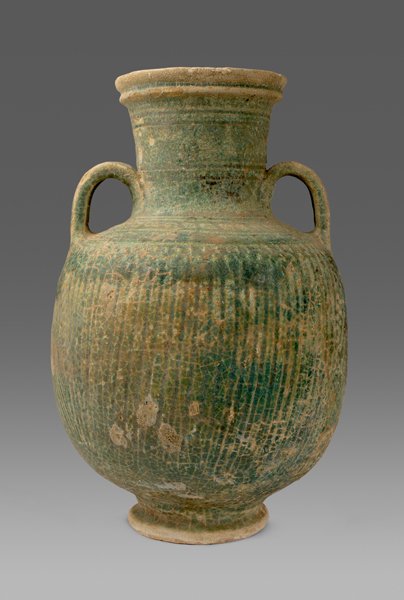 Green-Glazed Amphora