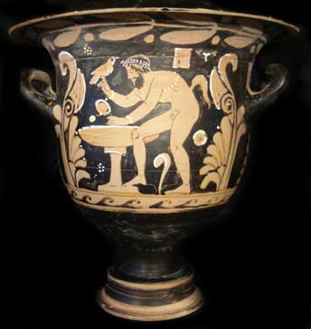 Pasteum Red-Figure Bell Krater