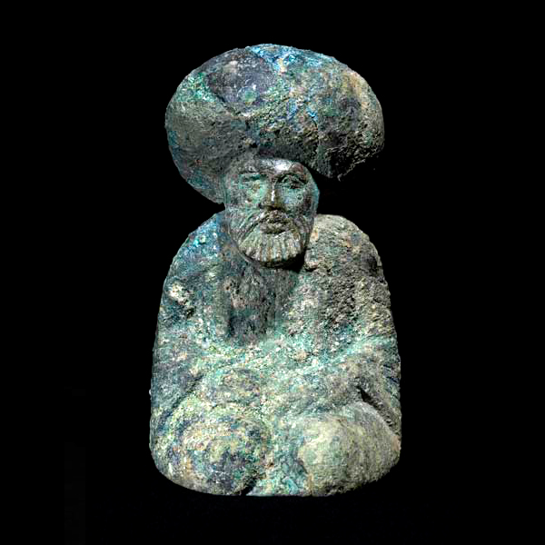 Bronze Chess Piece of the Caliph Harun al-Rashid