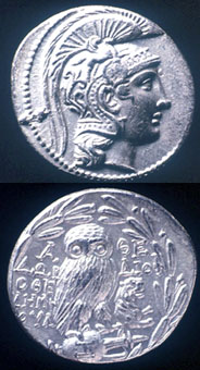 Silver Tetradrachm in the New Style