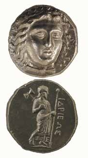 Tetradrachm Minted Under the Satrap Hidrieus