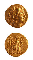 Gold Stater Issued Under King Mithradates VI