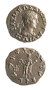 Indo-Greek Silver Drachm of King Zoilos I