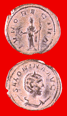 Bronze Antoninianus of Empress Salonina