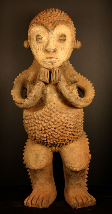 Mambila Terracotta Sculpture of a Woman
