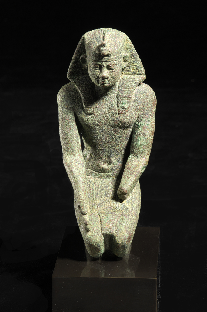 Bronze Sculpture of a Pharaoh