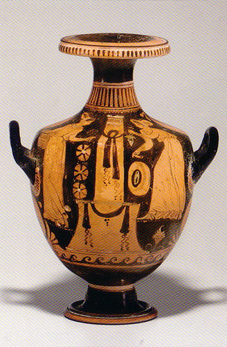 Apulian Red-Figured Hydria