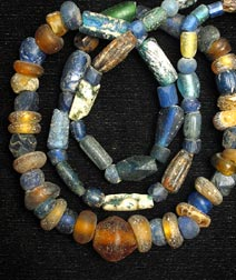 Necklace of Antique Glass Beads