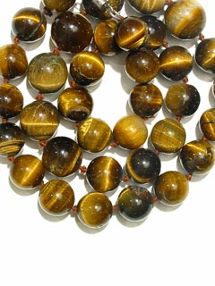 Necklace Of Tiger's Eye Beads