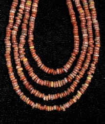 Necklace Of Egyptian Faience Beads