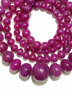 Necklace of Ruby Beads