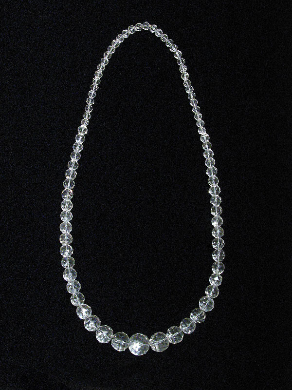 Rock Crystal Beaded Necklace