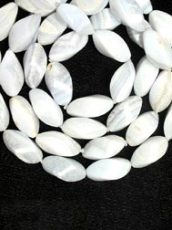 Chalcedony beaded Necklace