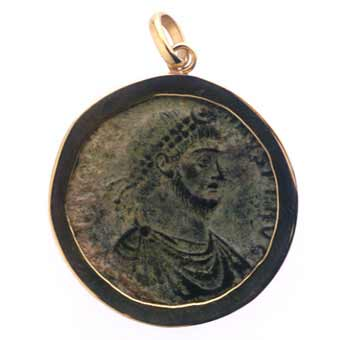 Bronze Coin of the Roman Emperor Julian II