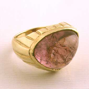 Pink Tourmaline  Pear Shape
