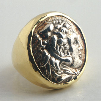 Silver Coin of King Alexander the Great