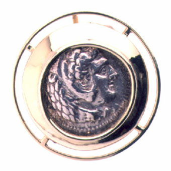 Silver Coin of King Alexander the  Great III