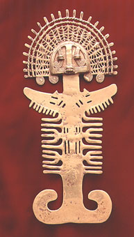 Gold Anthropomorphic Pectoral