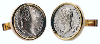 Two Silver Coins of Emperor Hadrian