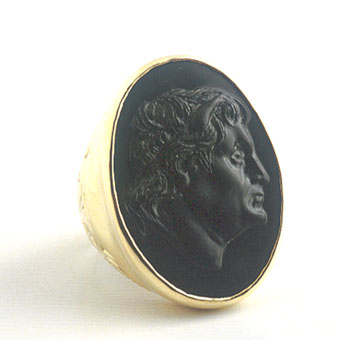 Onyx Cameo Depicting King Seleukos I