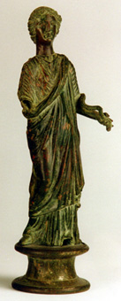 Late Roman Bronze Sculpture of Hygiea