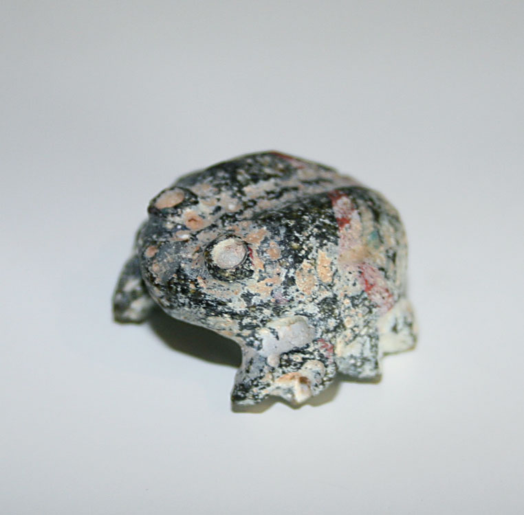 Egyptian MiniatureFrog  Amulet