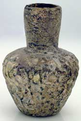 Islamic Molded Glass  Vessel