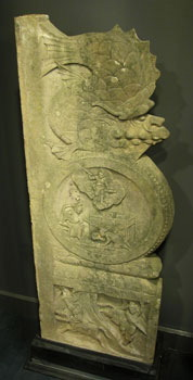 Pair of Ming Limestone Panels