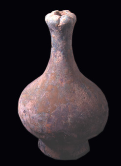 Han Bronze Long-Necked Hu