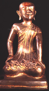 Gilt Bronze  Buddhist Sculpture