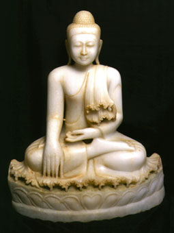 Marble Sculpture Of A Buddha