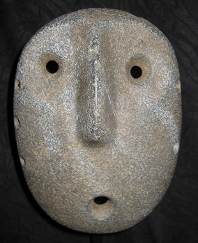 Alamito Green Stone Mask