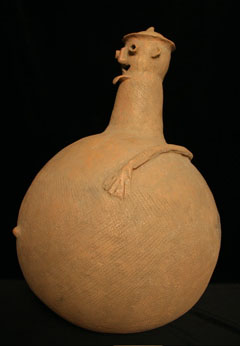 Adamawa Terracotta Anthropomorphic Vessel