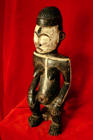 Idoma Fecundity/Fertility Sculpture of a Pregnant Woman